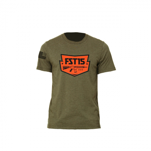 First Strike T-Shirt Ath Heather - Olive