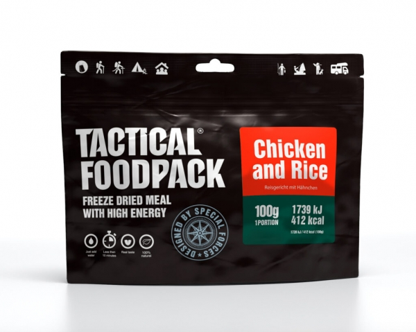 Tactical Foodpack - Chicken and Rice 100g
