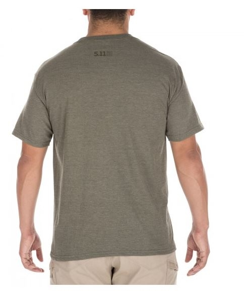 5.11 Stronghold Tee Military Green Heather