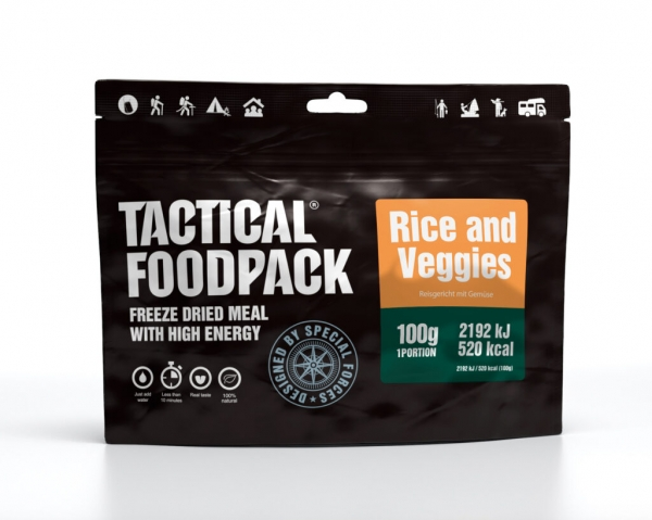 Tactical Foodpack - Rice and Veggies 100g