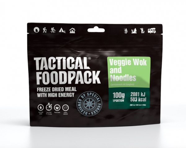 Tactical Foodpack - Veggie Wok and Noodles 100g