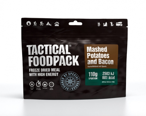 Tactical Foodpack - Mashed Potatoes and Bacon 110g