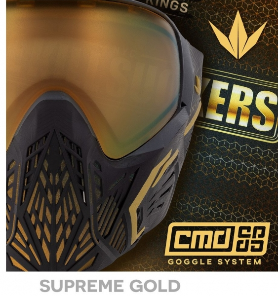 BK Maske CMD Command - Supreme Gold