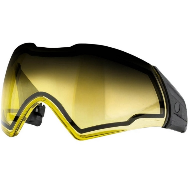 Push Unite Paintball Thermal Maskenglas (Fade gelb / Gradient yellow)