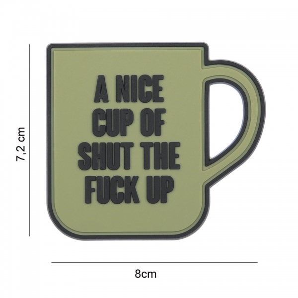 OPS Gear Patch - A nice cup green