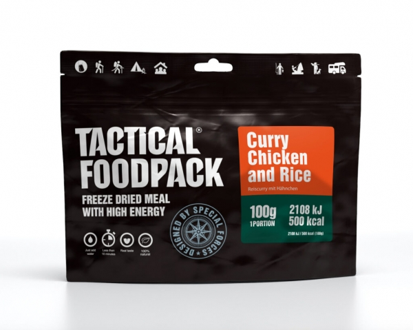Tactical Foodpack - Curry Chicken and Rice 100g