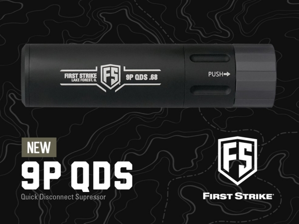 FS Barrel Tip 9P-QDS Mock Suppressor/Schalldämpfer