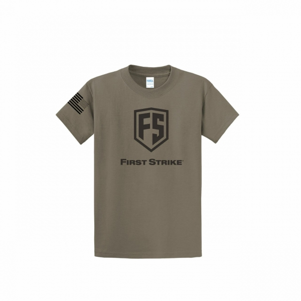 FirstStrike T-Shirt - Dusty Brown