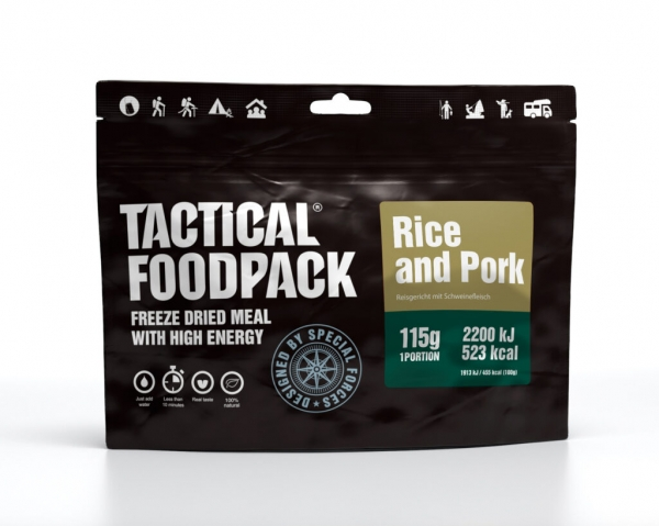Tactical Foodpack - Rice and Pork 115g