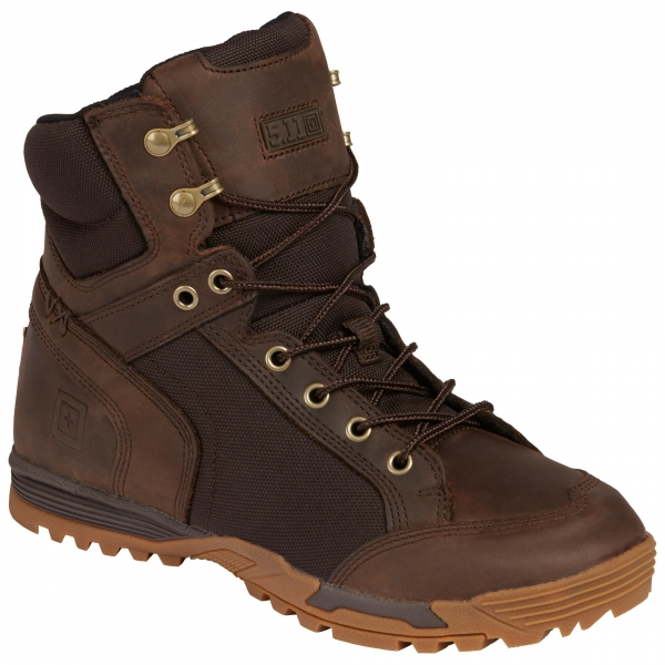 "5.11 PURSUIT ADVANCE 6"" BOOT Distressed Brown"