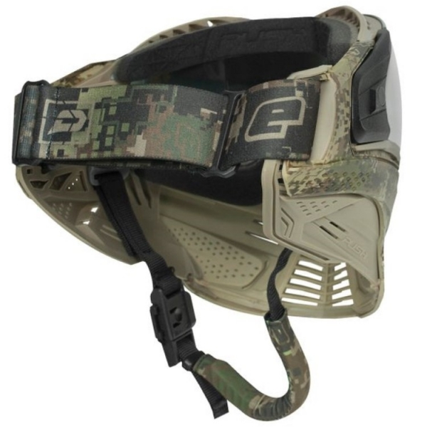 Push Unite Maske - Planet Eclipse HDE earth camo - Clear