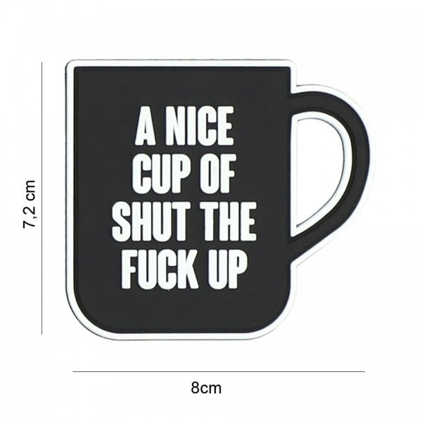 OPS Gear Patch - A nice cup black