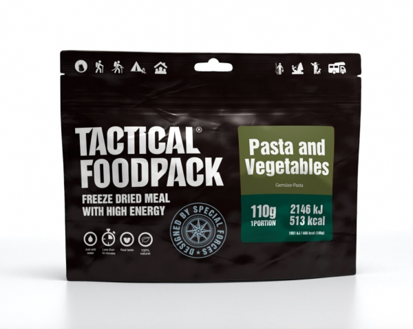 Tactical Foodpack - Pasta and Vegetables 110g