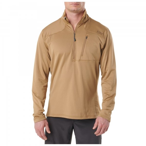 5.11 Recon Half Zip Coyote