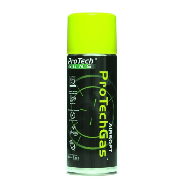 Pro Tech Airsoft Green Gas 400 ml