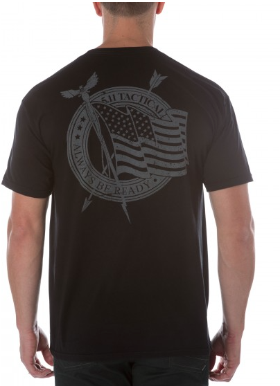 5.11 Flag Waiver Tee Black